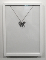Mirror plexi necklace, chain