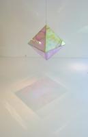 120 x120 x 200 cm. Radiant Plexi, woodwork