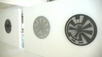 Each 100 x 100 cm. Aluminum, Laquer