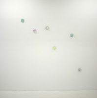 Glass diamonds, LED light